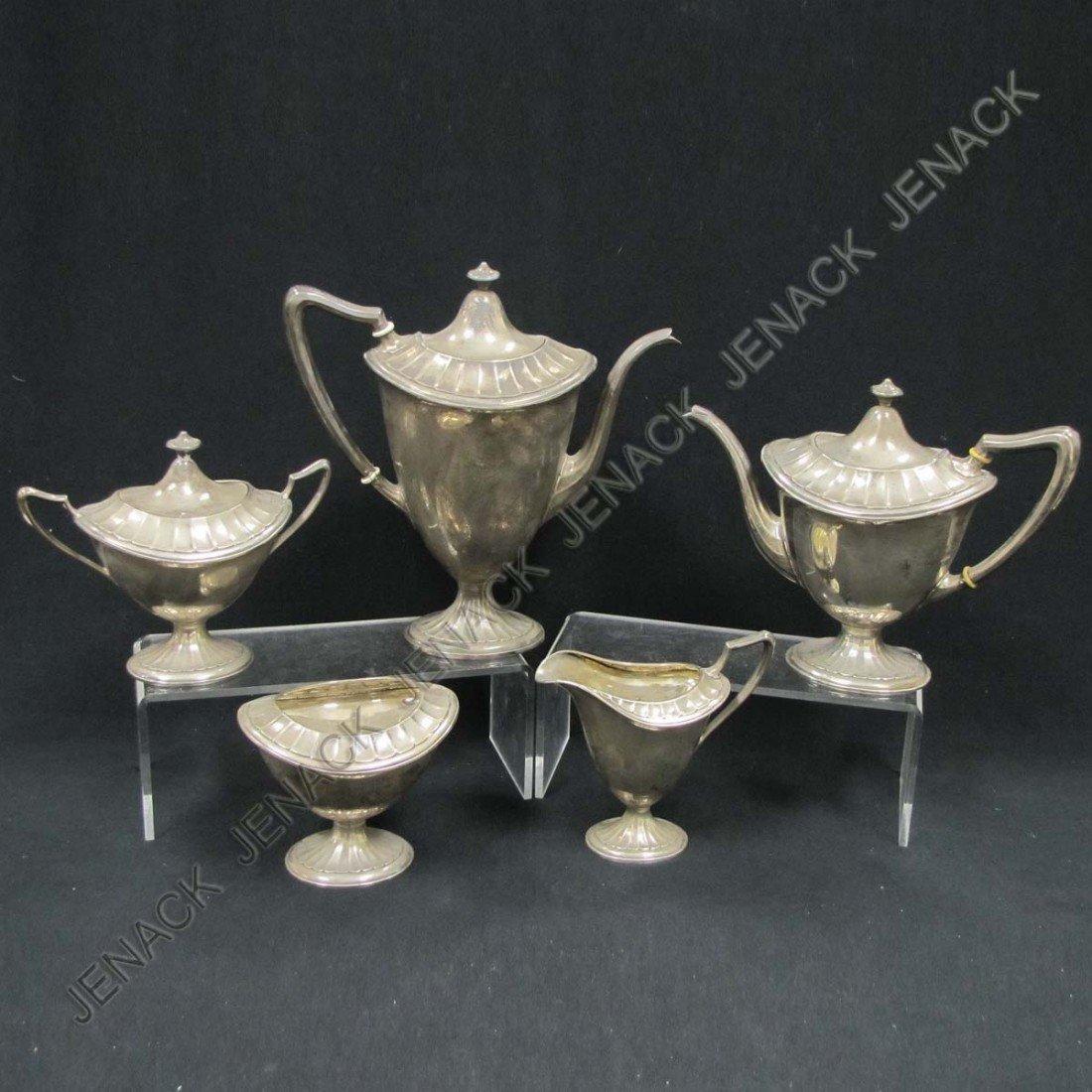 297: WALLACE SHERATON STYLE STERLING SILVER TEA/COFFEE