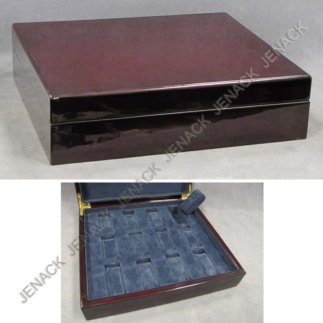6: COLLECTOR'S LACQUERED WRISTWATCH CASE