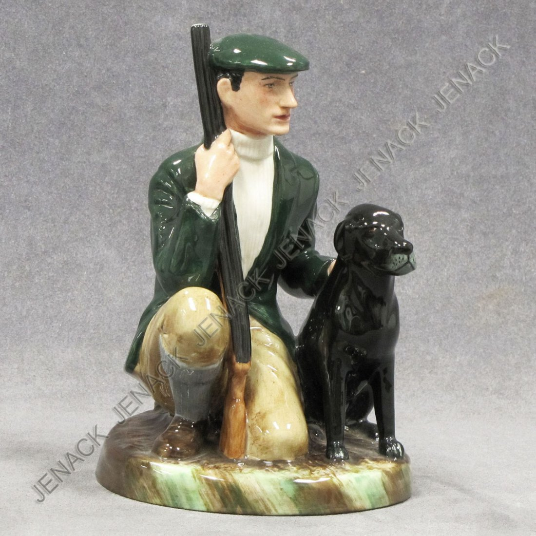 10: ROYAL DOULTON PORCELAIN FIGURE, THE GAME KEEPER