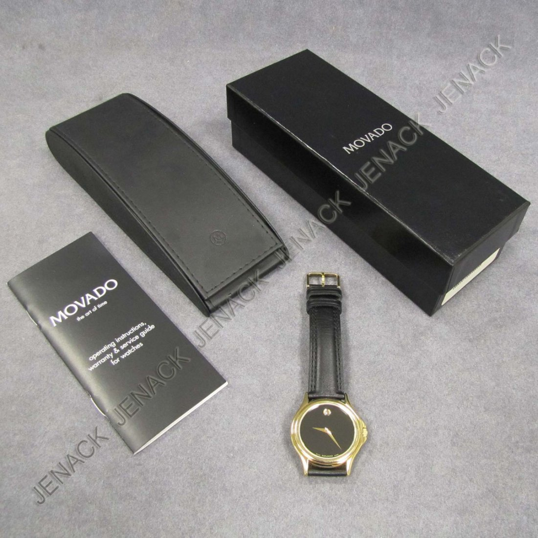 137: MOVADO STAINLESS MUSEUM COLLECTION WRISTWATCH