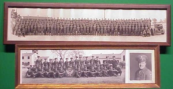 17: LOT (2) WWII PANORAMIC MILITARY PHOTOS