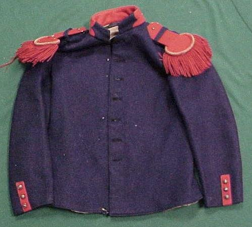 19: FRENCH MILITARY TUNIC, 19TH CENTURY