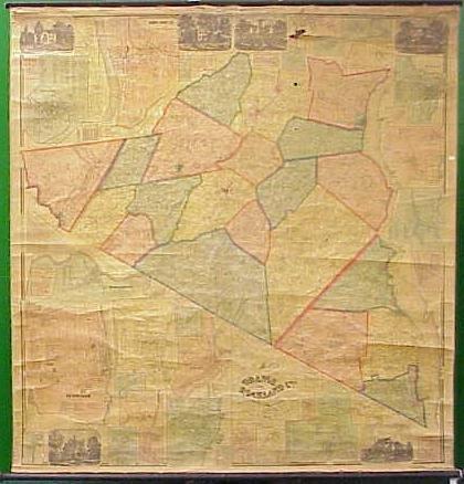 21: 1859 MAP, ORANGE COUNTY