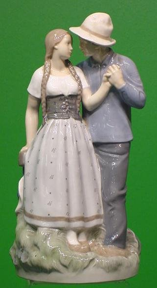 22: ROYAL COPENHAGEN FIGURE OF YOUNG LOVERS