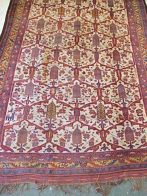 79: ANTIQUE CAUCASIAN CORRIDOR RUG