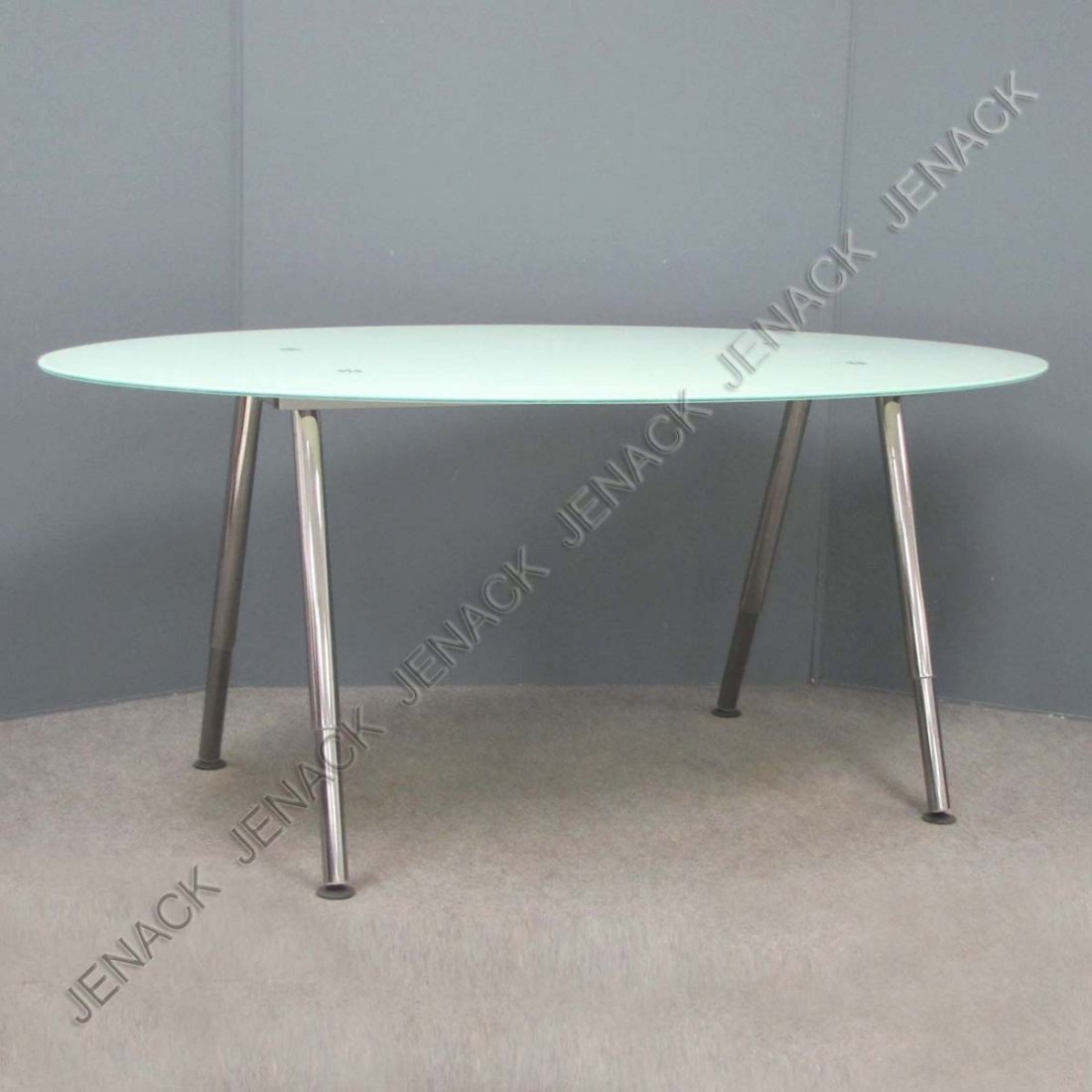 Ikea glass table desk - 99 Ikea Modern Design Oval Glass Dining Table