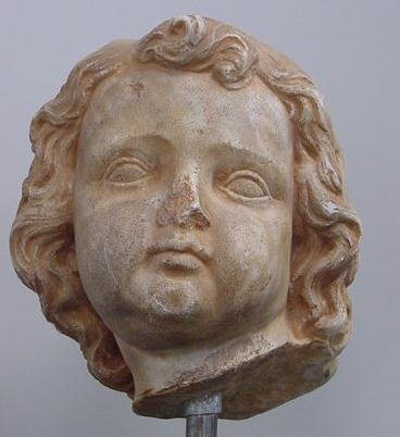 3013: ROMAN MARBLE HEAD OF A YOUTH