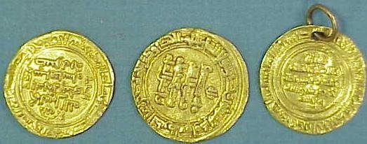 3016: LOT (3) TURKISH GOLD COINS