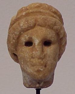 3023: ROMAN MARBLE HEAD OF APHRODITE
