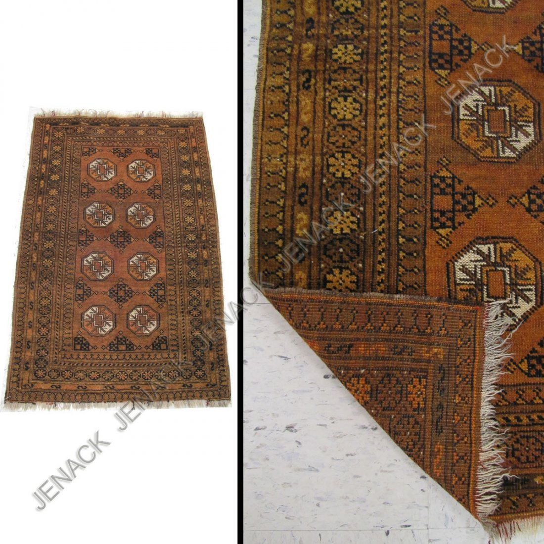 19: ANTIQUE KURD RUG