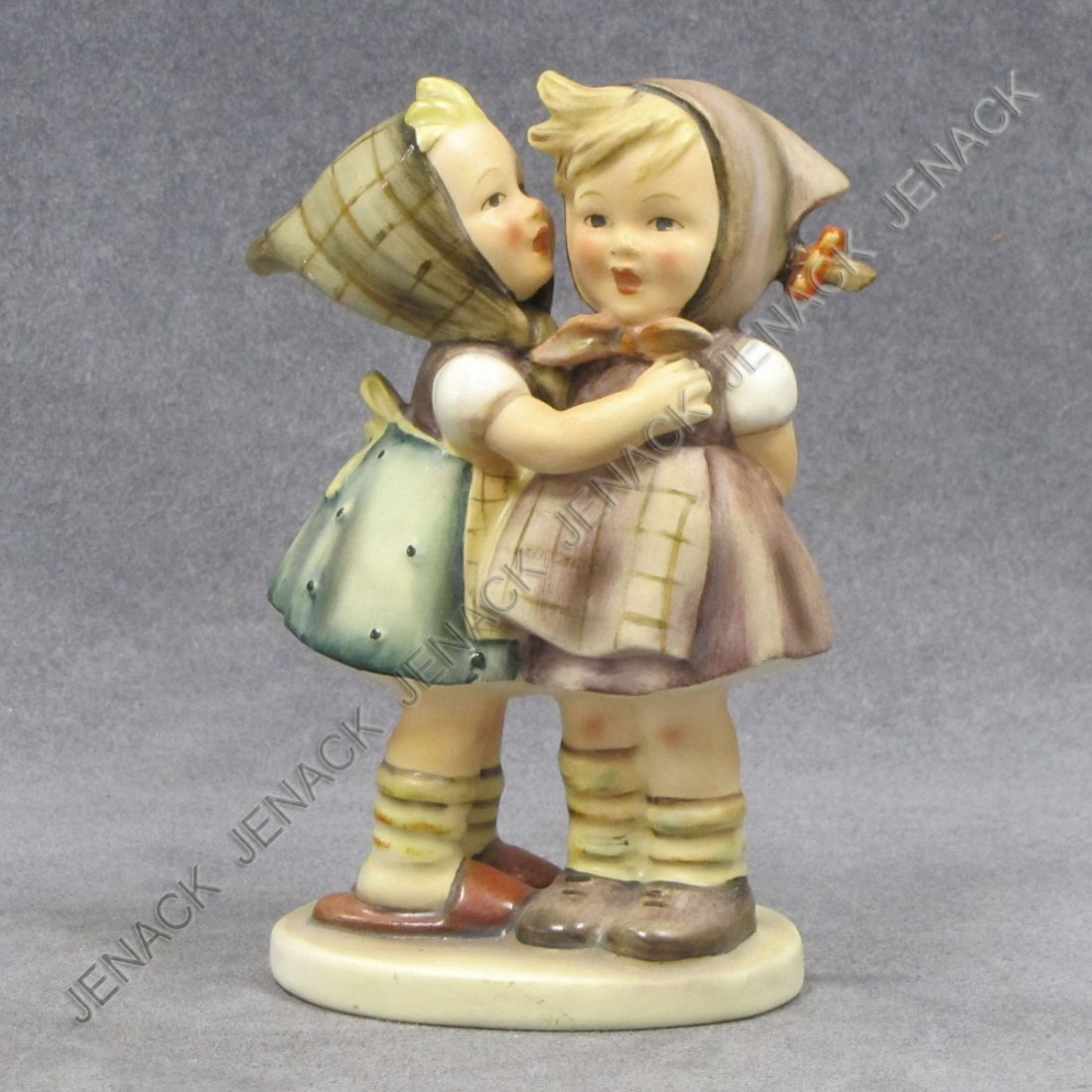 5: HUMMEL PORCELAIN FIGURE, TELLING HER SECRET #196/0
