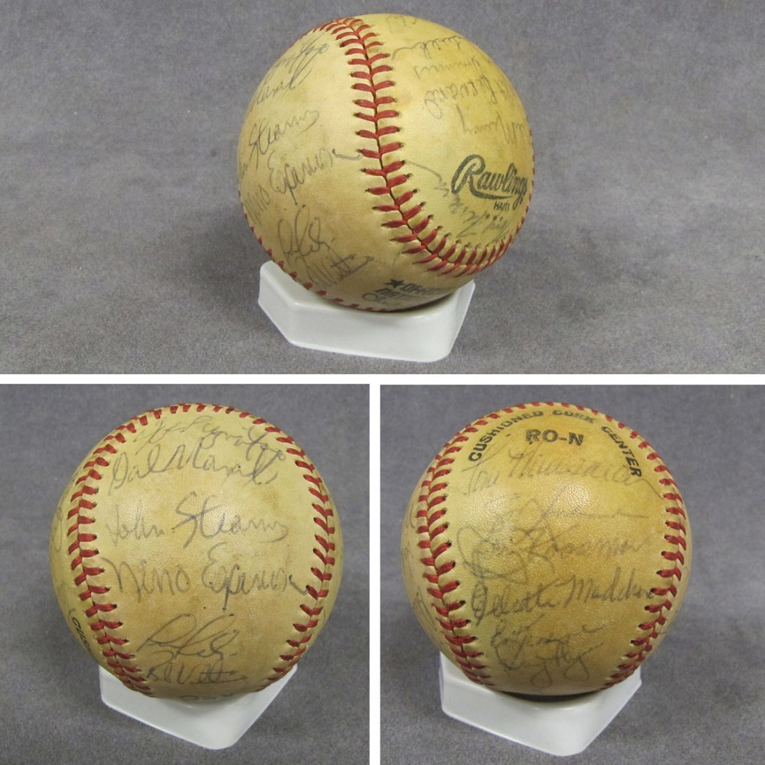 13: OFFICIAL NATIONAL LEAGUE SIGNED BASEBALL