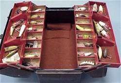 356 LARGE VINTAGE TACKLE BOX