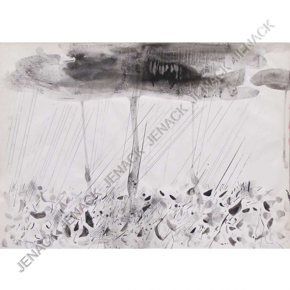 3: JOSEP GRAU GARRIGA (SPANISH 1929-), INK AND WASH