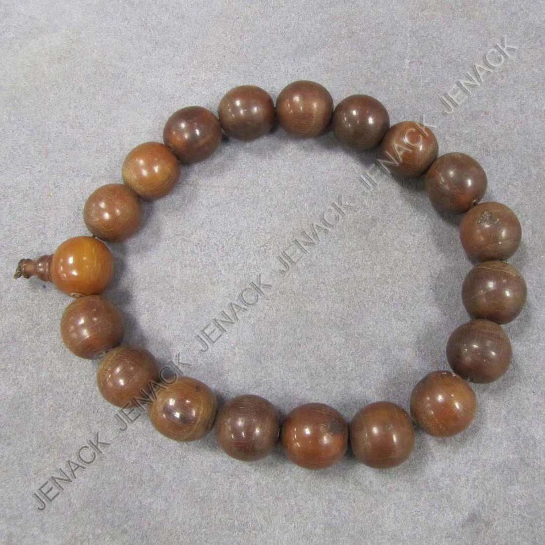 21: CHINESE CARVED HORN BEADS