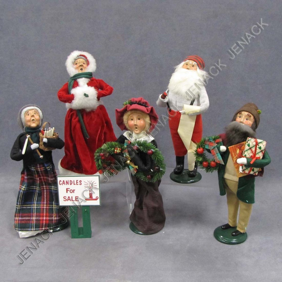 5: LOT (6) BYERS CHOICE CHRISTMAS CAROLERS