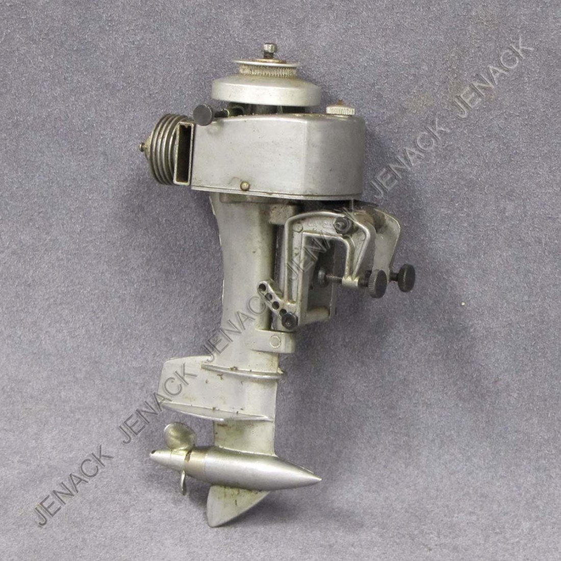 9: MINIATURE KB ALLYN GAS POWERED OUTBOARD MOTOR