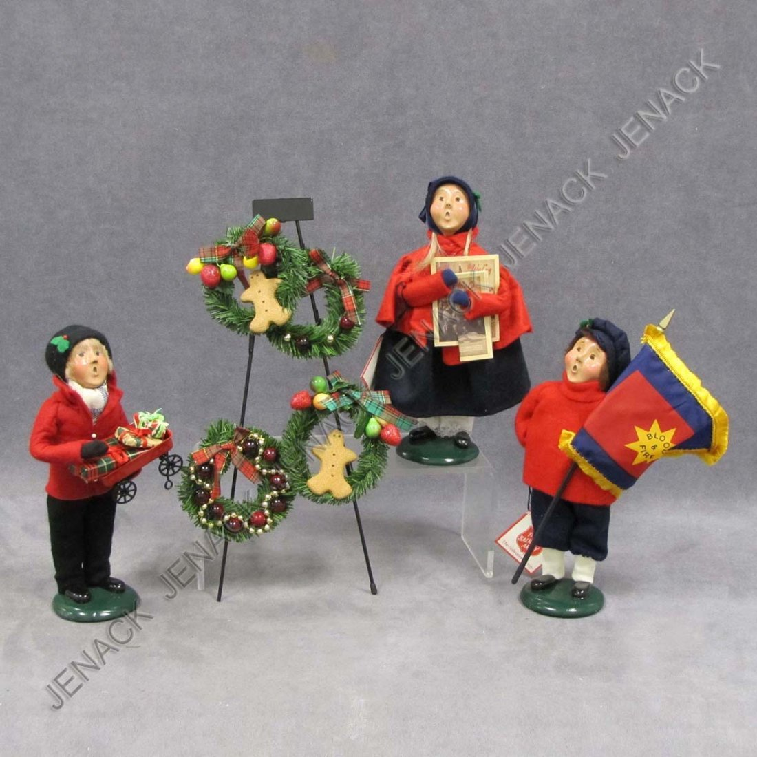 14: LOT (4) BYERS CHOICE CHRISTMAS CAROLERS
