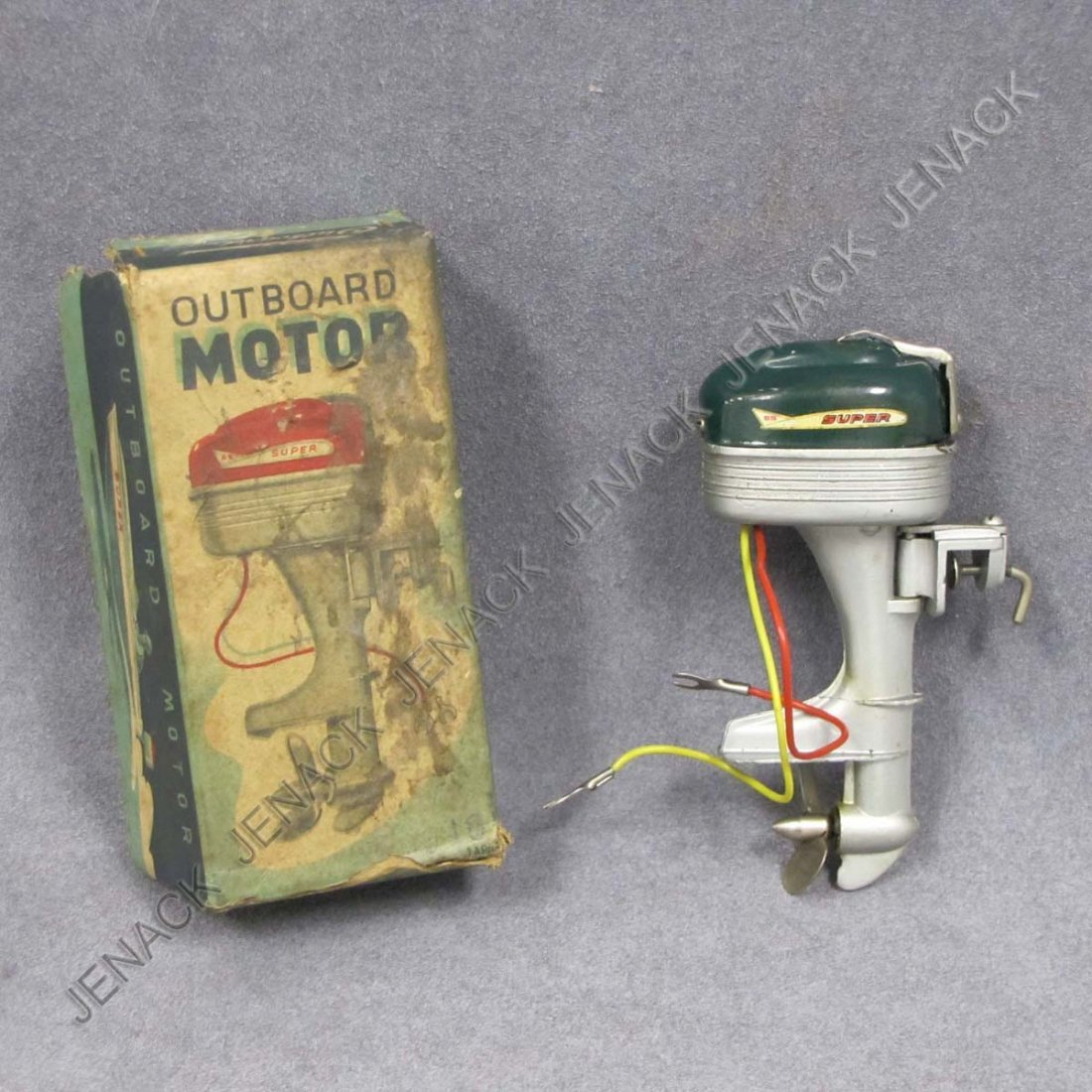 "16: MINIATURE ""SUPER"" ELECTRIC OUTBOARD BOAT MOTOR"