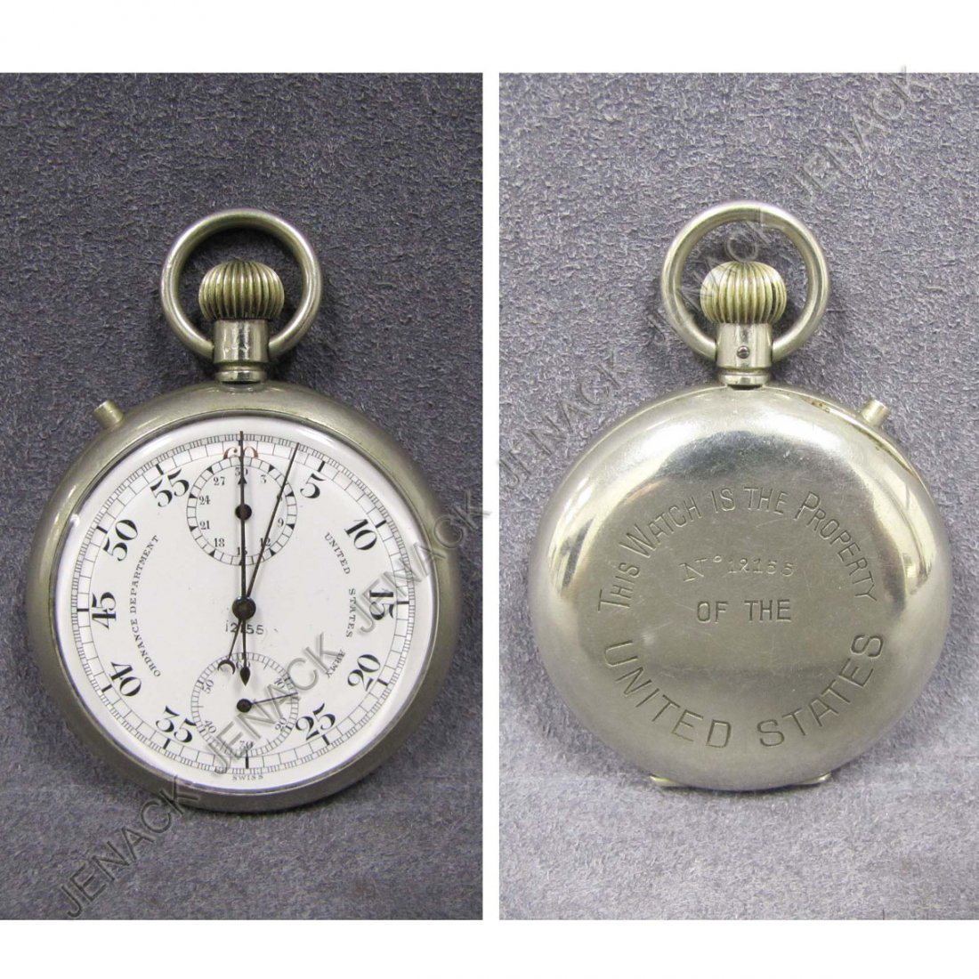 9: WWII UNITED STATES ARMY ORDNANCE DEPARTMENT WATCH