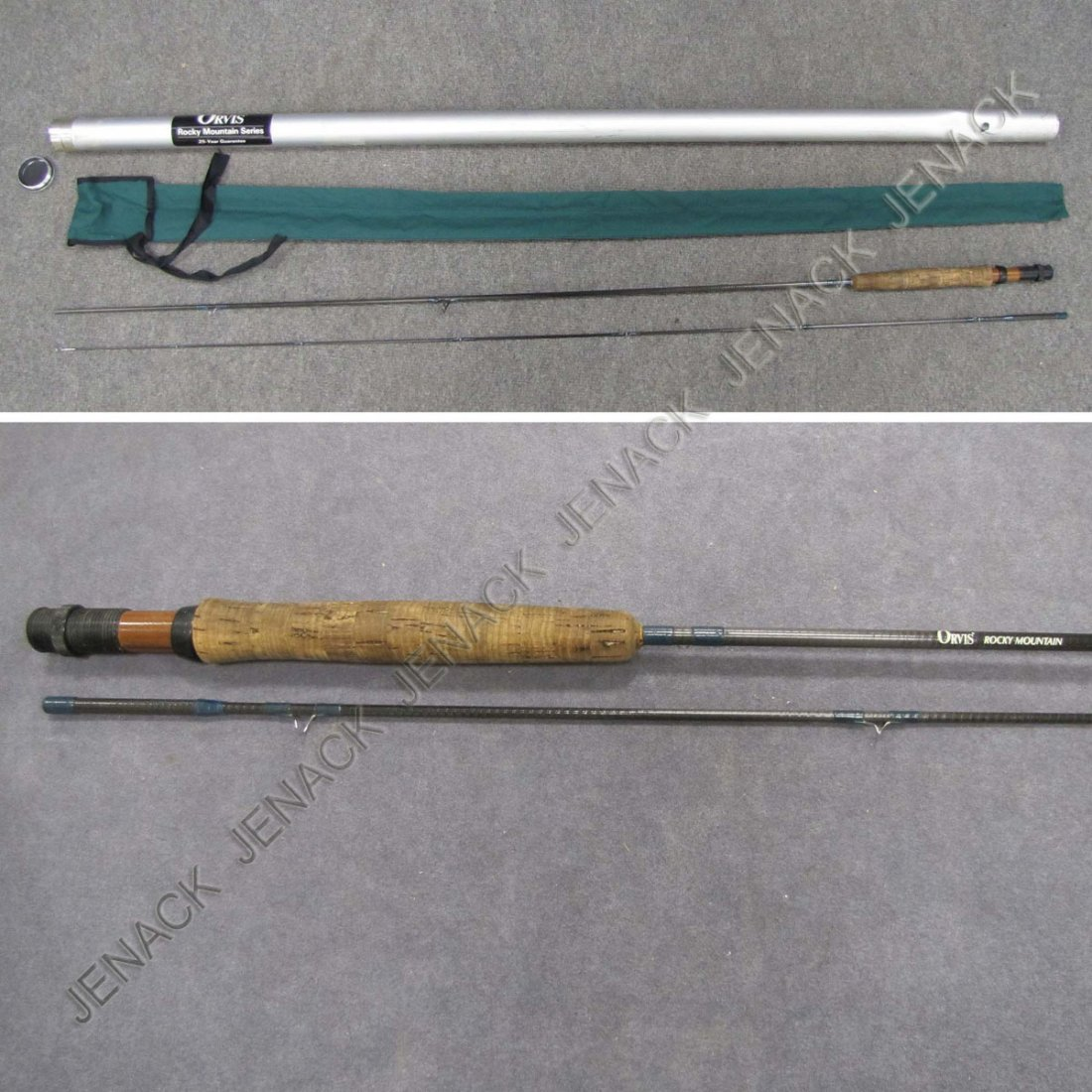 232: ORVIS ROCKY MOUNTAIN 8' GRAPHITE FLY ROD
