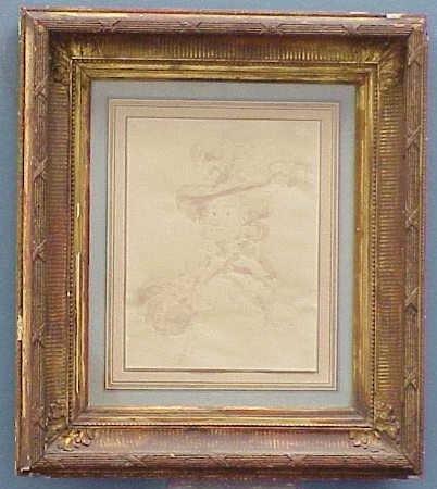 3: INK/WASH, SIGNED BONLIAR