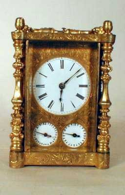 11: FINE FRENCH REPEATING CARRIAGE CLOCK