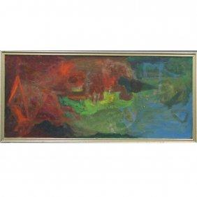 11: MARGOT KROUWER (AMERICAN NY 1907-1978), OIL