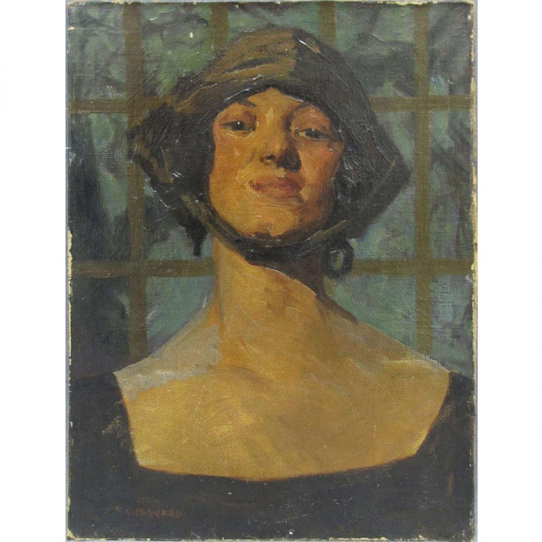 78: CHARLES D. WARD (ENGLAND 1872-1935), OIL ON CANVAS