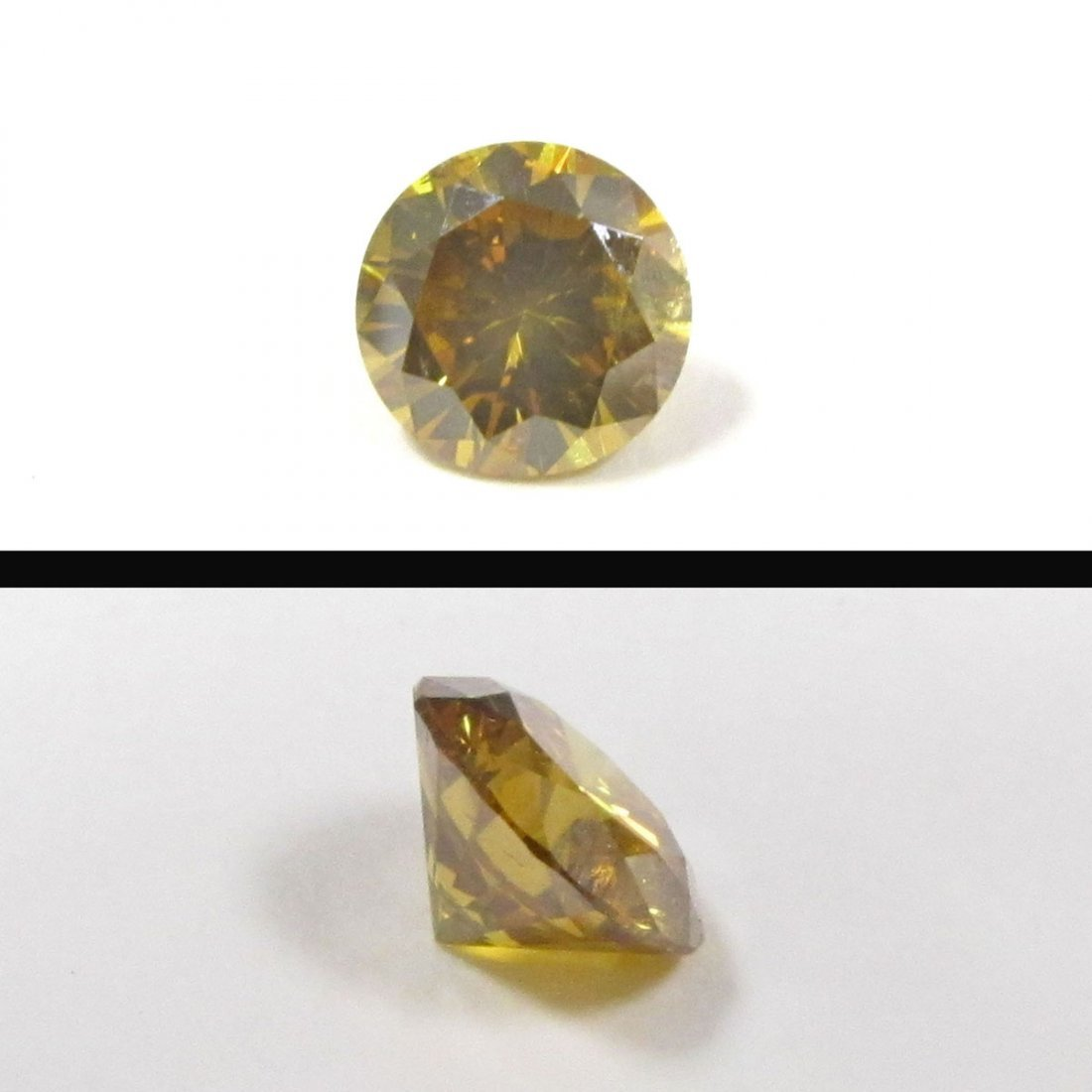 FANCY NATURAL DEEP BROWNISH ORANGY-YELLOW DIAMOND, 1.17