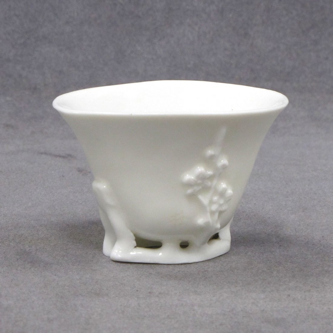 CHINESE BLANC DE CHINE LIBATION CUP