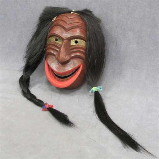 Eastern Woodland Indian False Face Mask