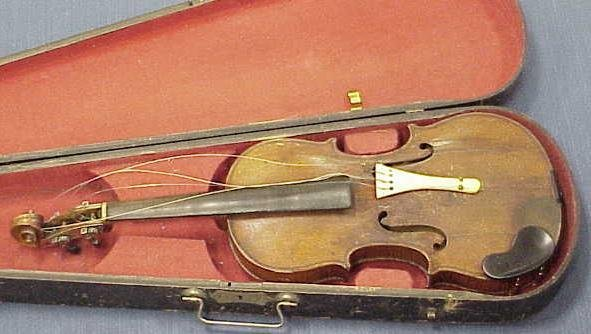 2012: VINTAGE VIOLIN (IVORY TAIL PIECE)