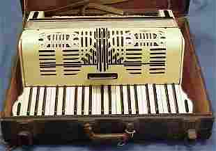 GEIB CELLULOID 41-NOTE ACCORDION