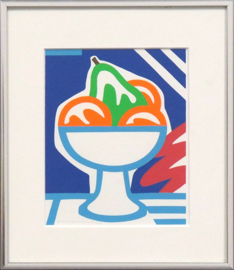 TOM WESSELMANN (AMERICAN/NY 1931-2004), SERIGRAPH