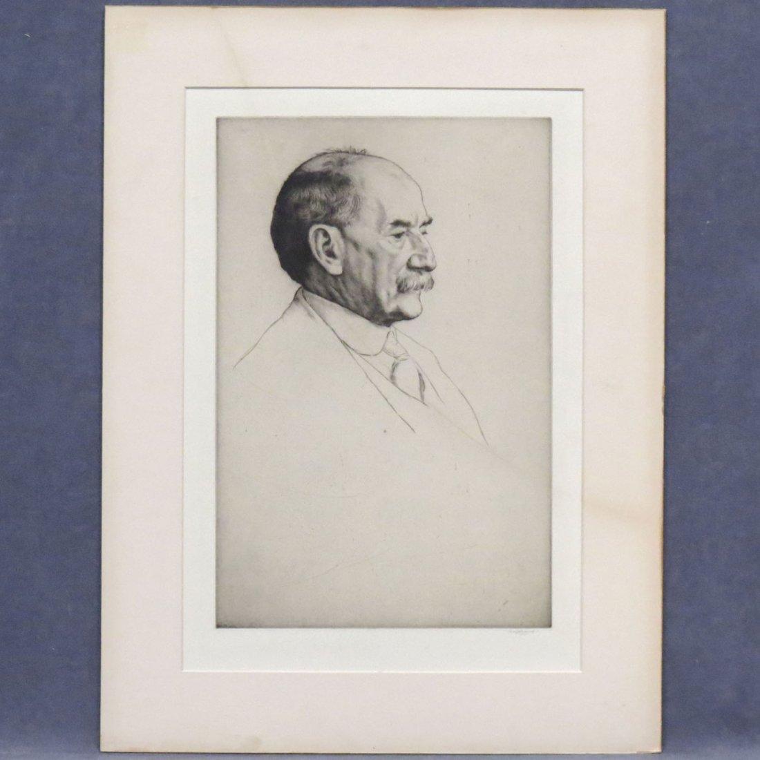 WILLIAM STRANG (BRITISH 1859-1921) ETCHING