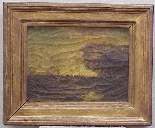 8: OIL ON CANVAS, SIGNED CHARLES GRUPPE