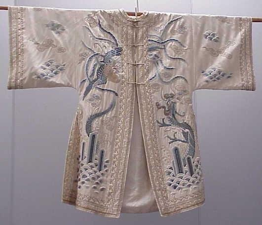 14: FINE VINTAGE CHINESE EMBROIDERED COAT