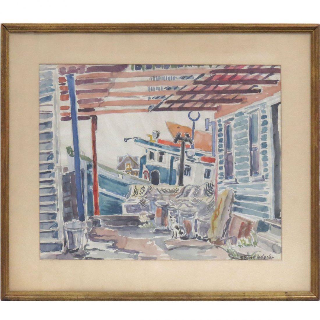 STEWART WHEELER (AMERICAN 1906-1975), WATERCOLOR