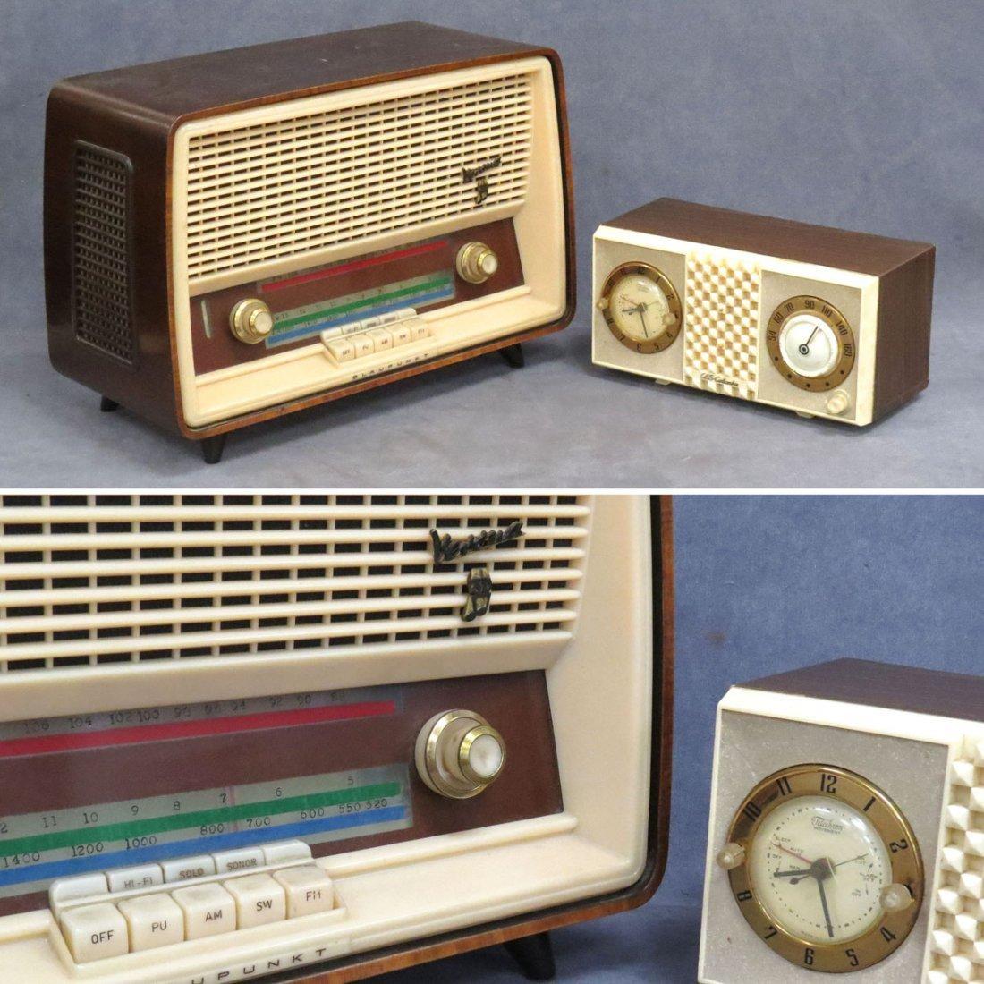 LOT (2) VINTAGE RADIOS INCLUDING BLAUPUNKT VERONA