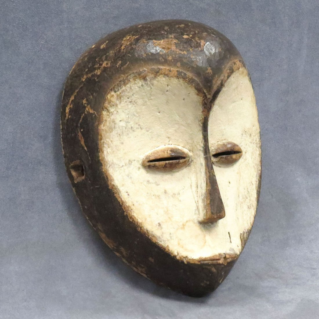 BAKWELE, D.R.C. CARVED AND PAINTED MASK