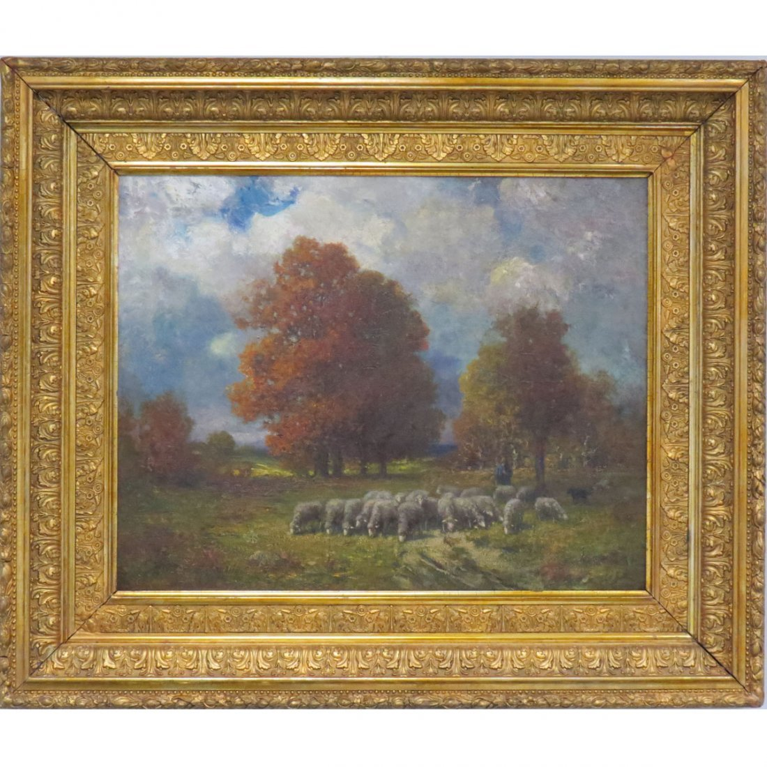 RICHARD CREIFELDS (AMERICAN 1853-1939), OIL