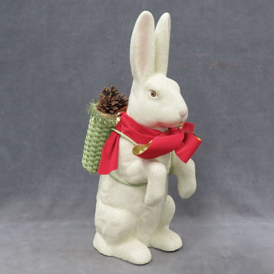 BEADED EASTER BUNNY DEPARTMENT STORE DISPLAY