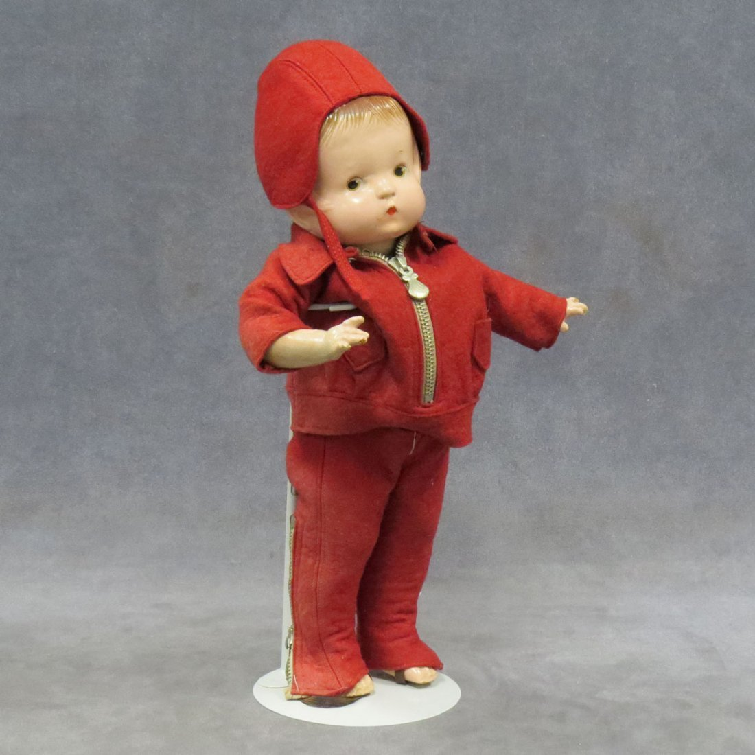 EFFANBEE PATSY DOLL WITH ORIGINAL SKIING OUTFIT