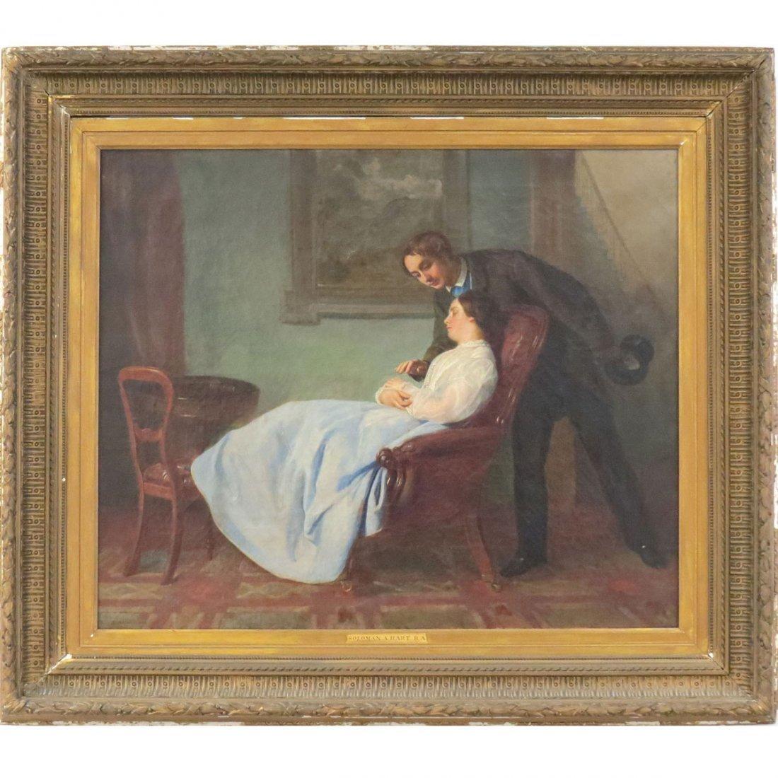 SOLOMON ALEXANDER HART (BRITISH 1806-1881), OIL