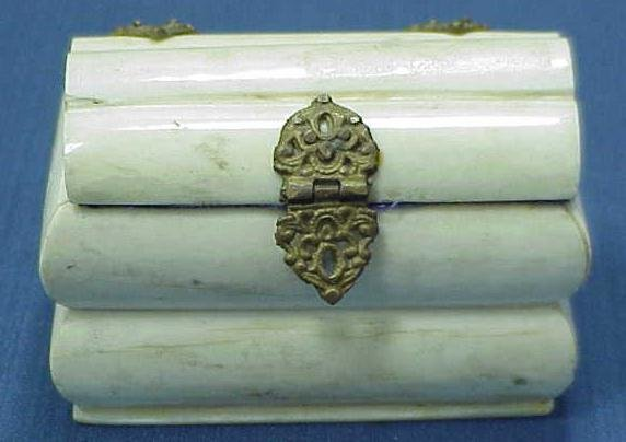 5: VICTORIAN ANGLO/INDIAN IVORY BOX