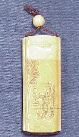 17: CARVED IVORY INRO, REPUBLIC