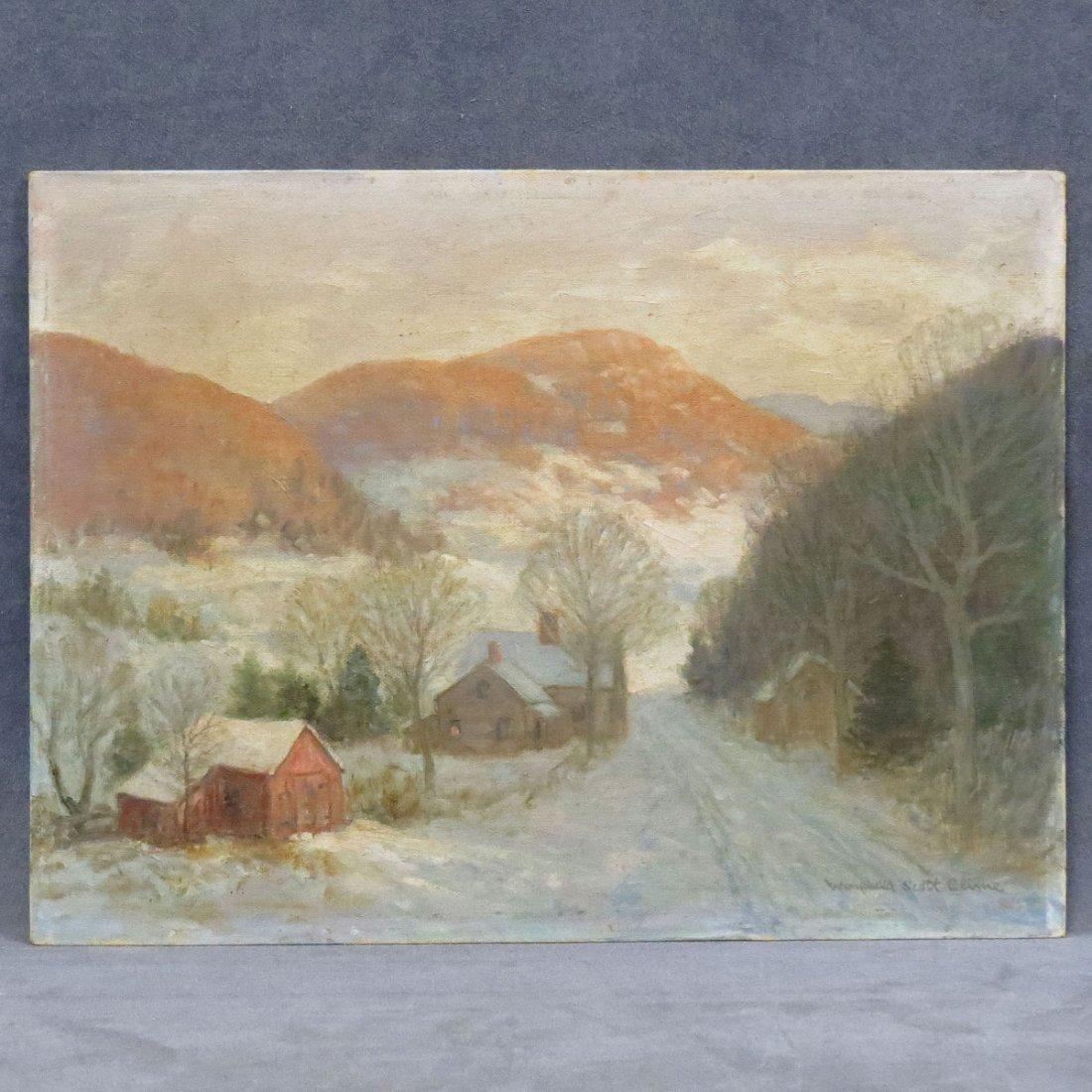 WINFIELD SCOTT CLIME (AMERICAN 1881-1958), OIL