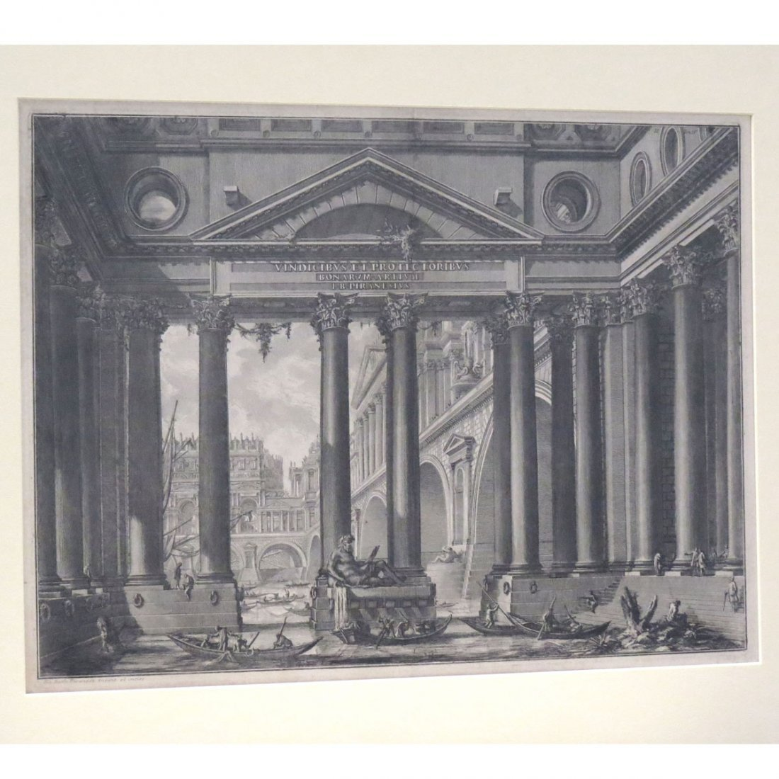 GIOVANNI PIRANESI (ITALY 1720-1778), ETCHING