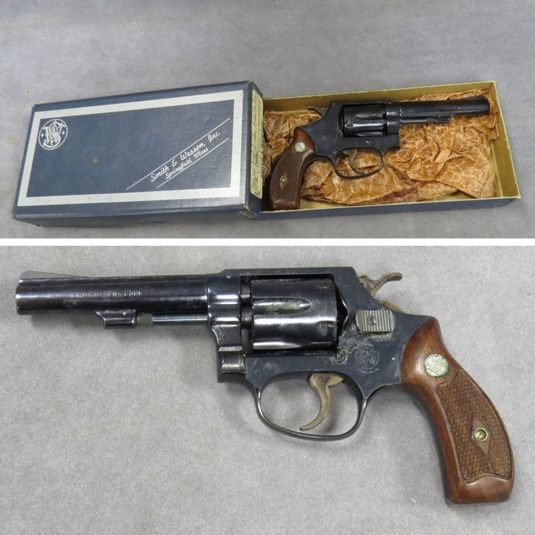 **RESTRICTED** SMITH & WESSON MODEL 30-1, .32 CAL